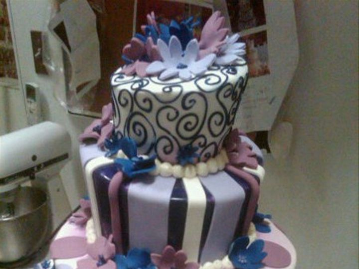 Tmx 1328887269813 Batmitzvah Philadelphia wedding cake
