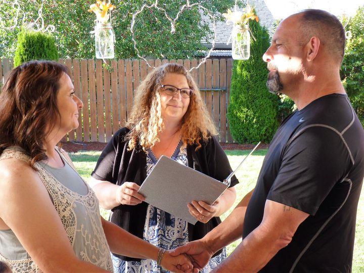 Intimate Backyard Ceremony