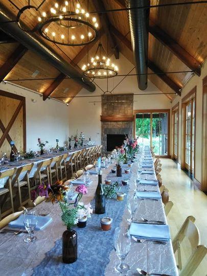 Stunning wildflower tables
