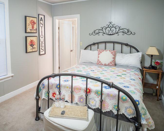 Downstairs guestroom