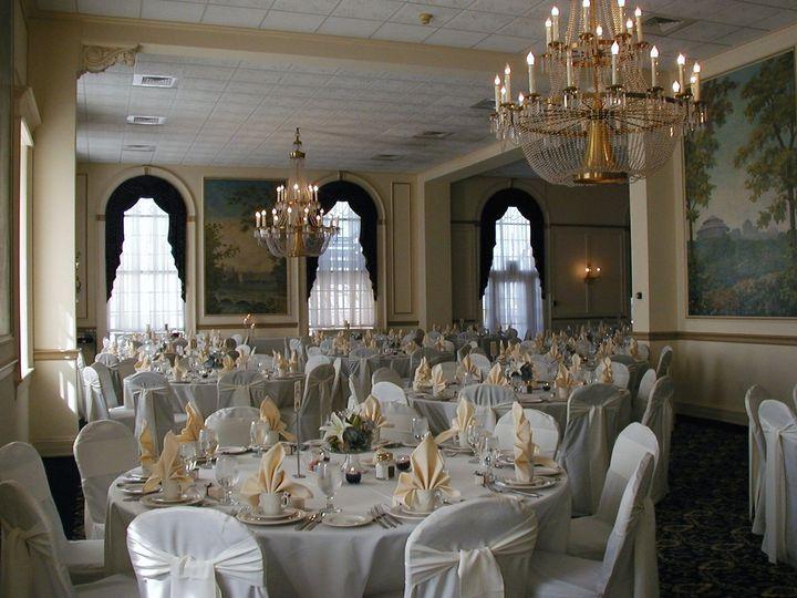 The Grand Ballroom setup