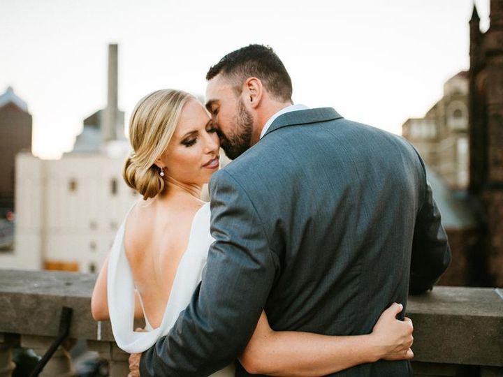 Tmx Rooftop Photo Cheek Kiss 51 89761 159708162574487 Rochester, NY wedding venue
