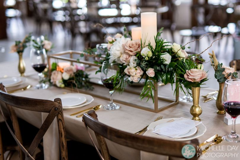 Beautiful tablescapes.