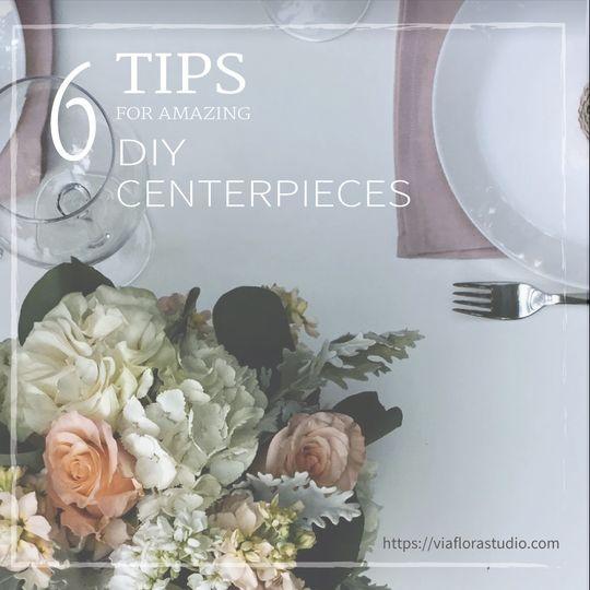 tips for amazing diy centerpieces blogsplash