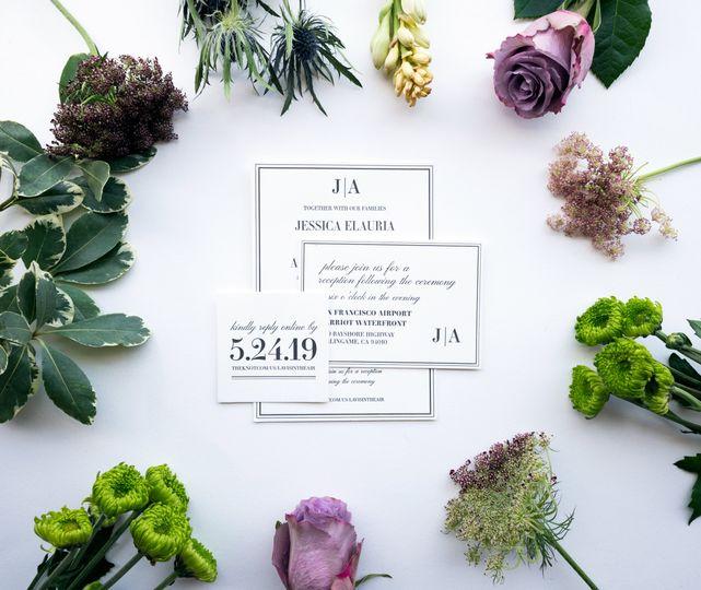 Jess + Adrian wedding suite