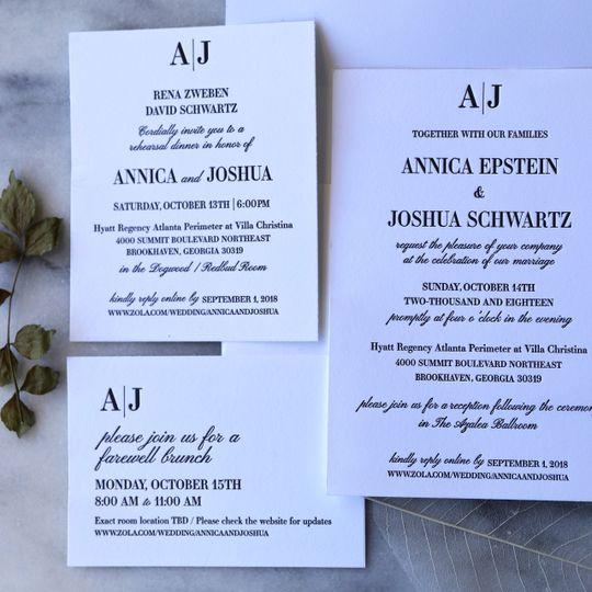 Annica + Josh wedding suite