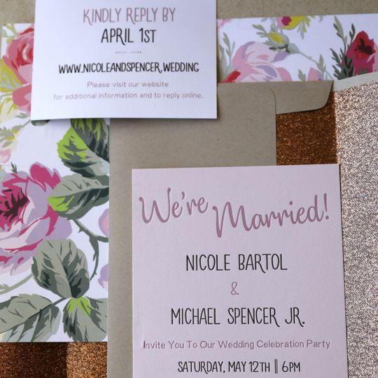 Nicole + Spencer wedding suite