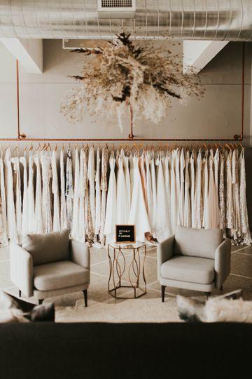 Dressing room details