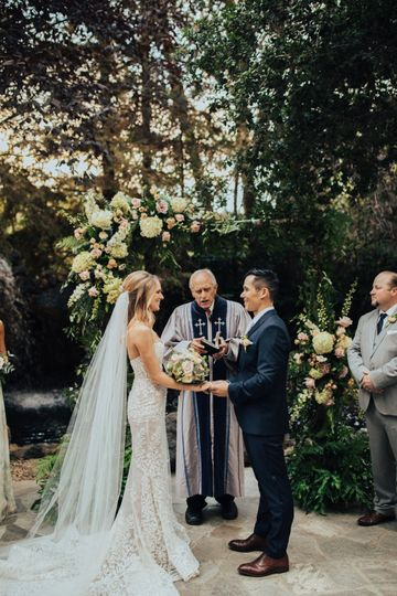 Ceremony details and timeline