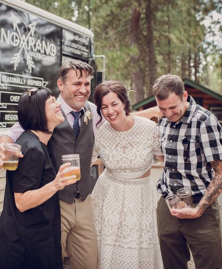 Bend, Oregon wedding.