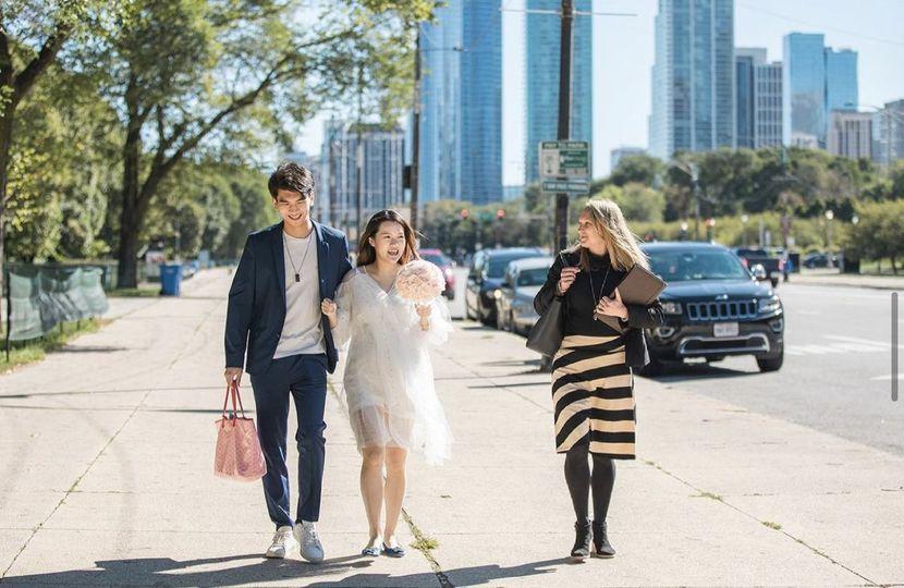 Wedding in Grant Park