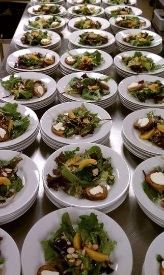 Salad servings