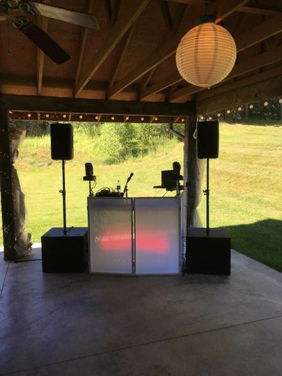 Outdoor setup