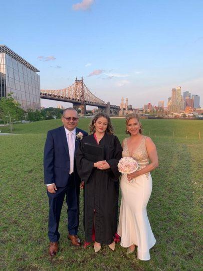 Wedding at Roosevelt Island