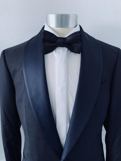 Navy Shawl Collar Tuxedo