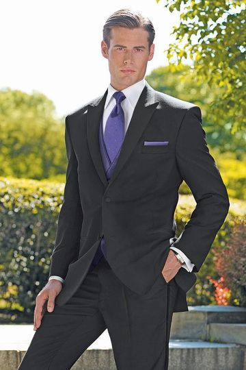 wedding tuxedo black lauren ralph lauren saville 9