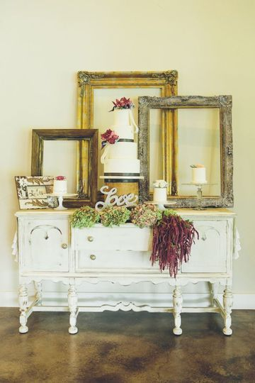 Rustic and vintage decorations