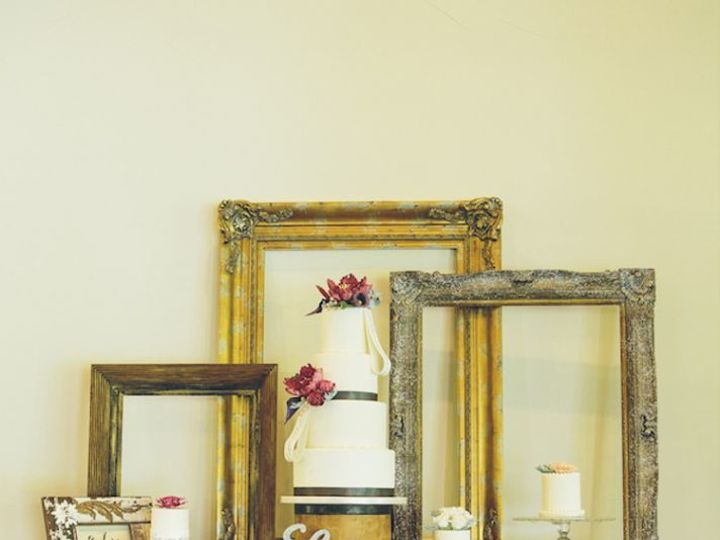 Tmx 1515771910 Cb3f1ade50b02cd0 Cake Table With Frame Decor  Full Charlotte, NC wedding venue