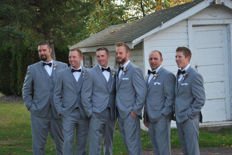 Classic gray 3 piece suit