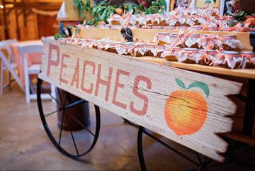 Peaches sign