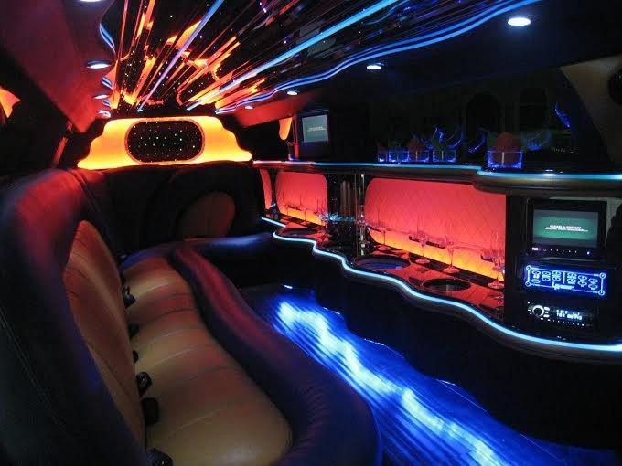 Interior limo lights