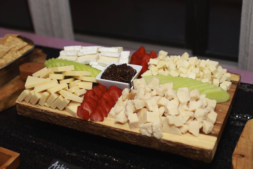 Cheese Display - Reception