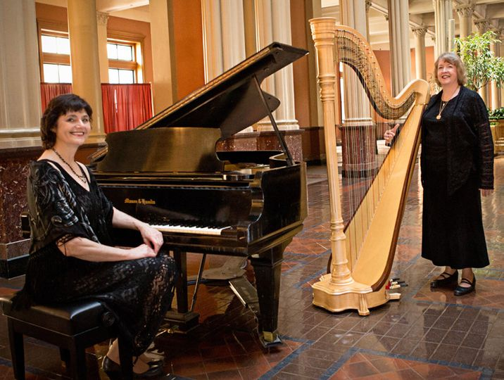 Royal Event Musicians Pianist Sharon Planer and Harpist Serena O'Meara will perform beautiful harp...