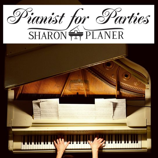 Pianist for Parties, Sharon Planer, loves adding a sparkle to events with her piano music!