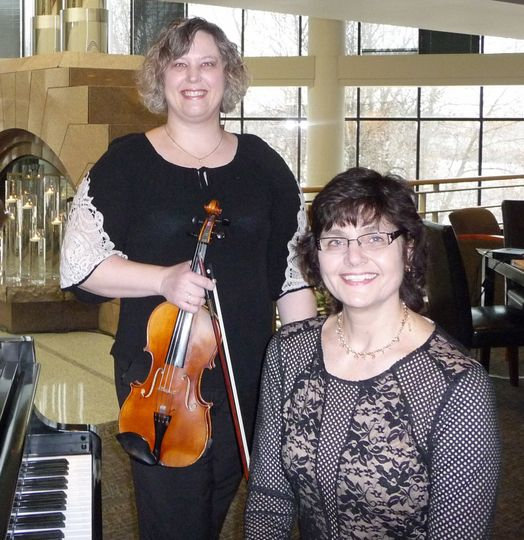 Violin and Piano Wedding Duo at Oak Ridge Conference Center