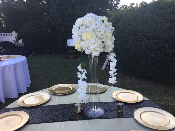 Classic white flowers