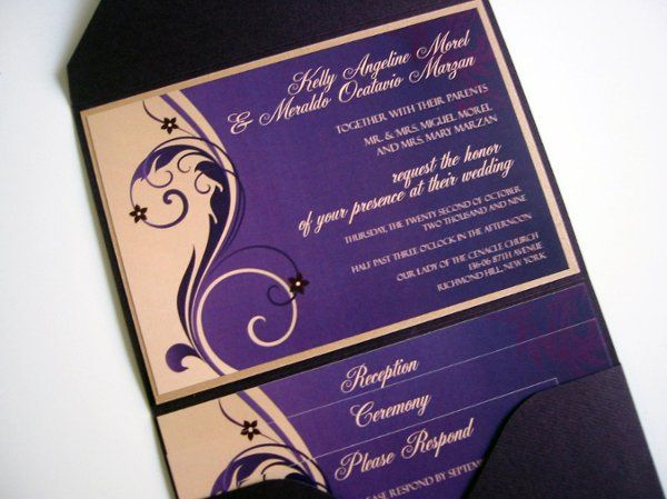 Tmx 1251997448150 IMG2416 Brooklyn wedding invitation