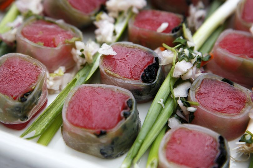 Dining innovations catering asheville nc weddingwire for Asaka authentic japanese cuisine asheville nc