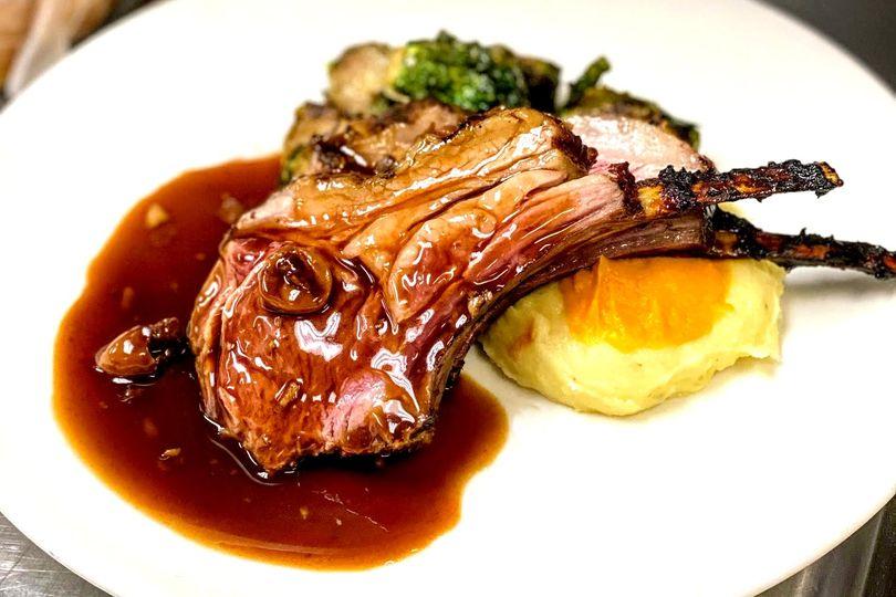 Lamb Plated Dinner