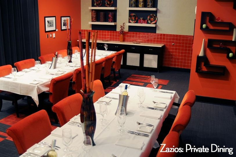 zazios private dining room