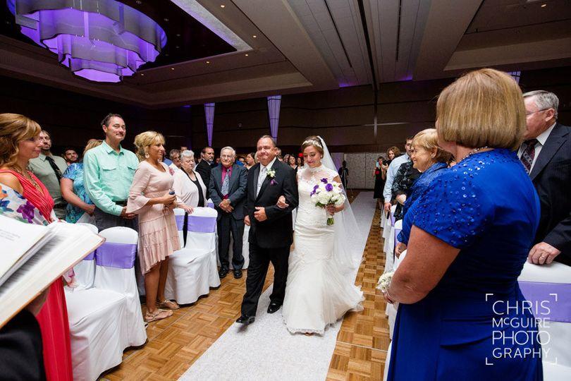 Bridal entrace
