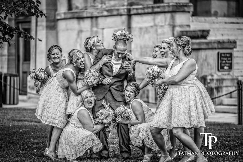 Wedding party fun - Tatman Photography