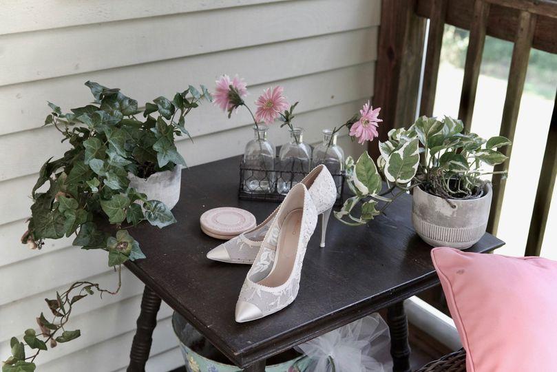 Elegant Bride Slippers