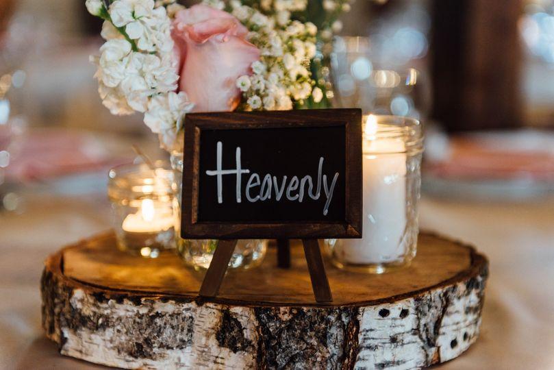 Heavenly signage