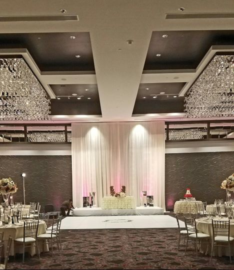 Ballroom Sweetheart Table