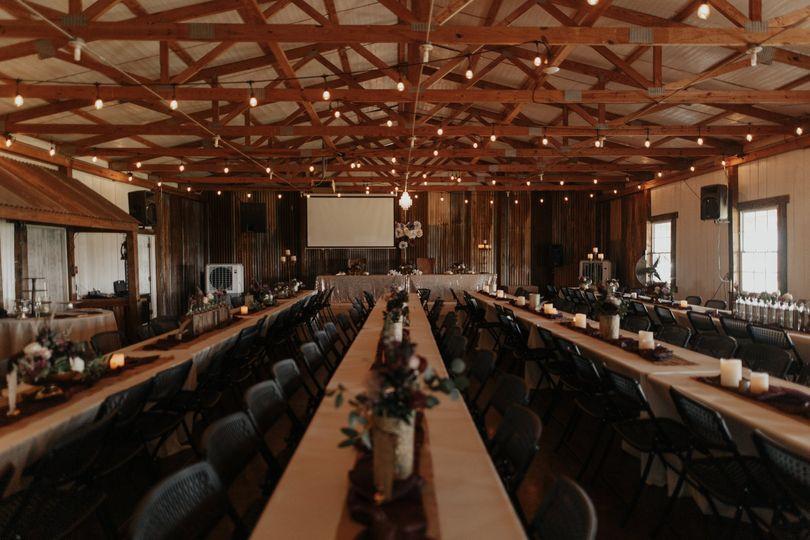 Main Barn Reception
