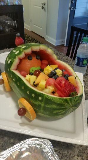 Fruit baby carrage