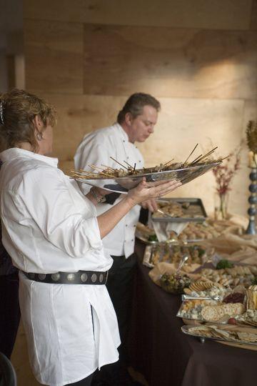 Wedding meal preparation