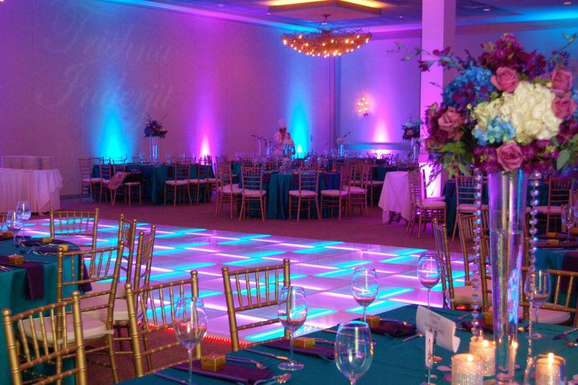 LED colorful