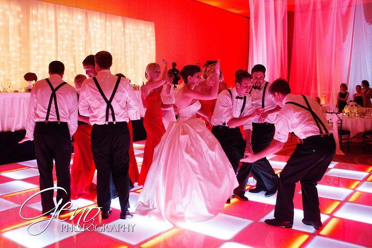 Dancing with the groom's men