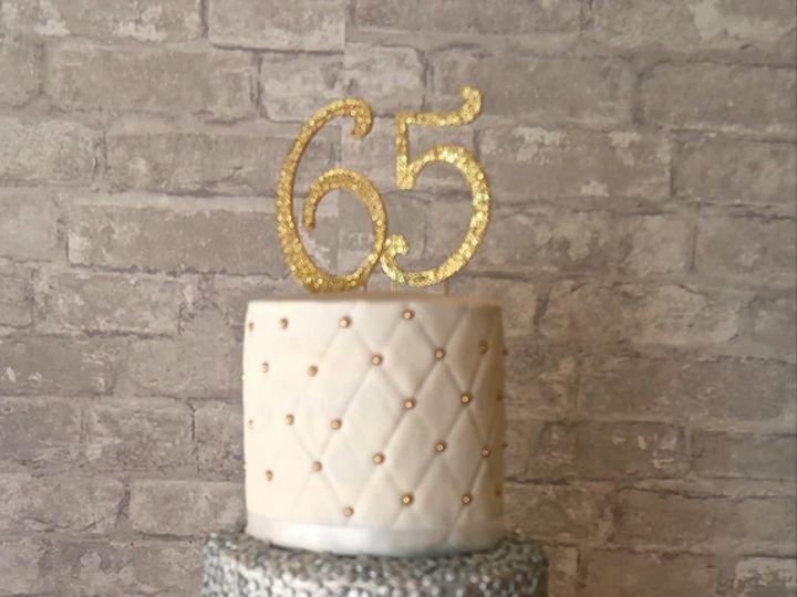Tmx 65 Year Anniversary 51 1054961 Rego Park, NY wedding cake