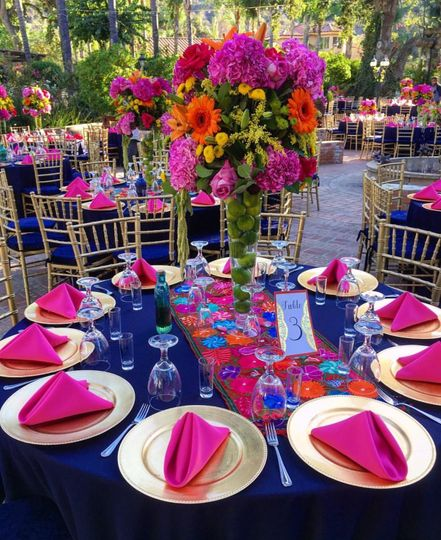 Fiesta and Citrus Table