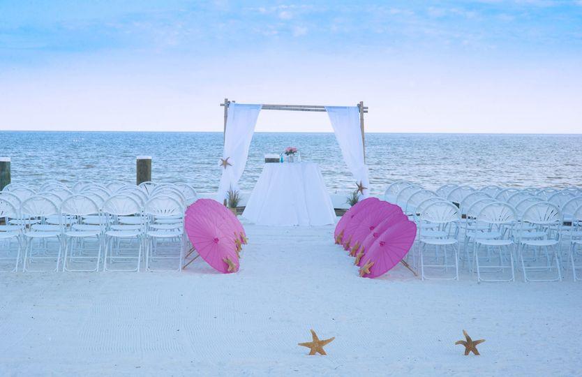 Our NEW South Beach Ceremony Site!
