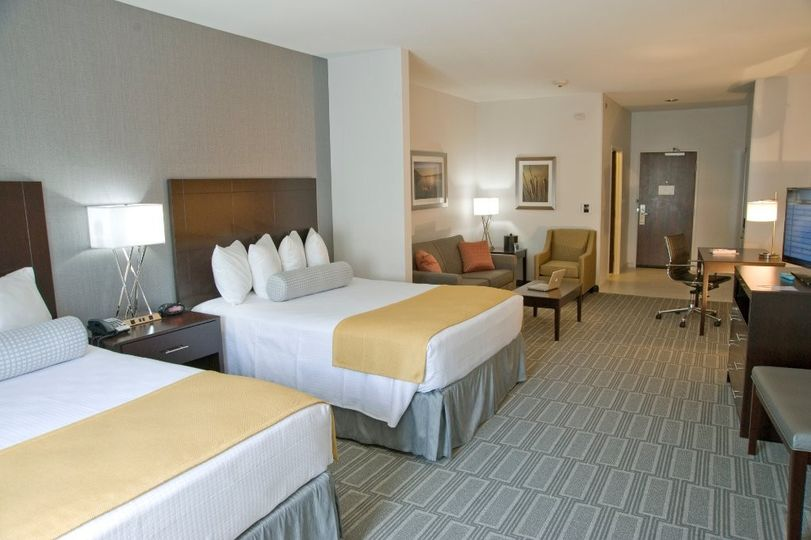our two queen bed suites