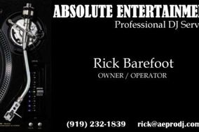 Absolute Entertainment Professional DJ Service
