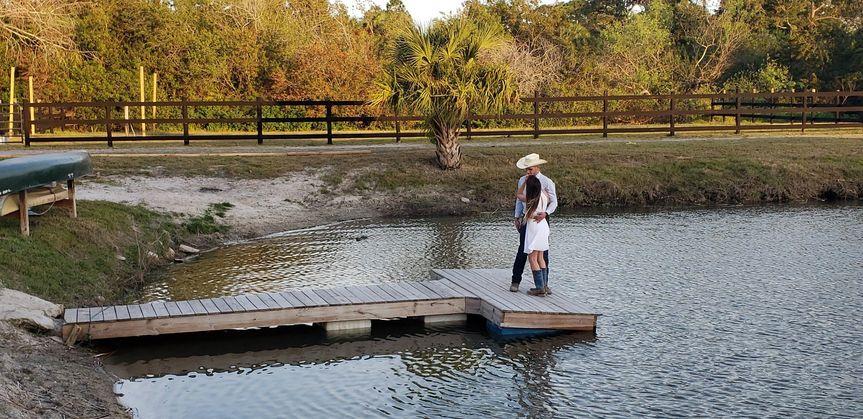Pond dock